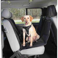 TRIXIE Baksätesskydd för hundar 145x160 cm delbart svart