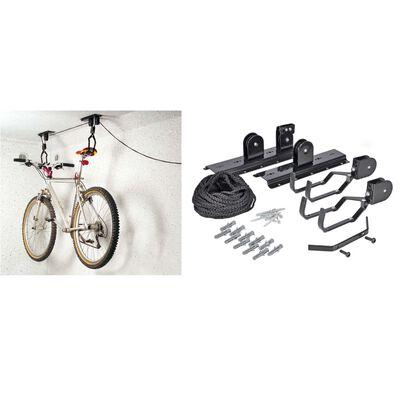 HI Cykellift metall svart
