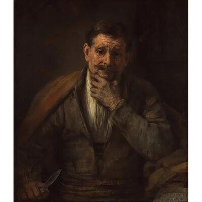 The Apostle Bartholomem,REMBRANDT Harmenszoon van Rijn,60x50cm