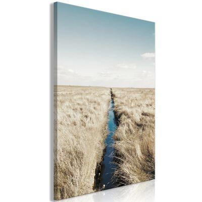 Tavla - Ditch (1 Part) Vertical - 40x60 Cm