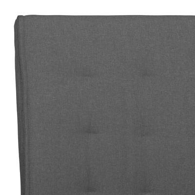 vidaXL Fribärande matstolar 6 st mörkgrå tyg