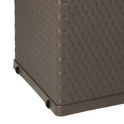 vidaXL Dynbox 120x56x63 cm brun, Brun