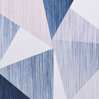 vidaXL Matta flerfärgad 140x200 cm tyg