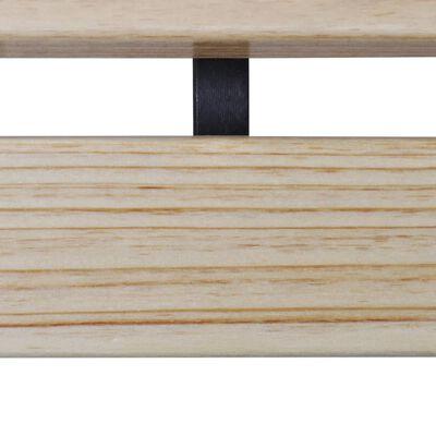 vidaXL Barnbänk 84 cm trä
