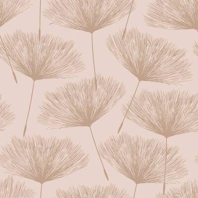 DUTCH WALLCOVERINGS Tapet Fleur ljusrosa