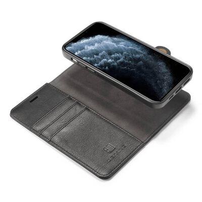 "Mobilplånbok Dg-ming 2i1 Apple Iphone 12 Mini (5.4"")-grå,"