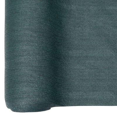 vidaXL Insynsskyddsnät HDPE 1x25 m grönt 150 g/m²
