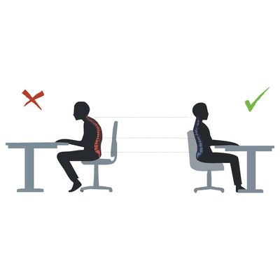 Entelo Ergonomisk kontorsstol Perto VE03 grå och svart
