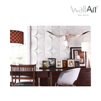 WallArt Väggpanel 3D Sweeps 12 st GA-WA06