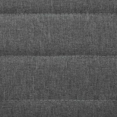 vidaXL Matstolar 4 st ljusgrå tyg