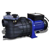 vidaXL Poolpump elektrisk 500W blå