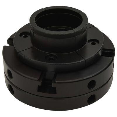 vidaXL 4-backs svarvchuck med M33-koppling stål 100 mm,