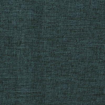 vidaXL Mörkläggningsgardin med krokar linnelook 2 st grön 140x175 cm