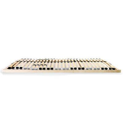 vidaXL Ribbotten med 28 ribbor 7 zoner 90x200 cm