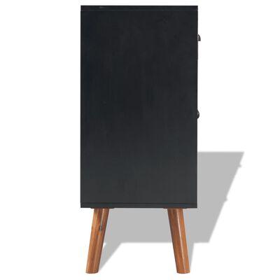 vidaXL Skänk massivt akaciaträ 90x33,5x83 cm