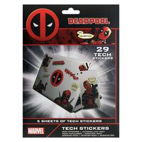 Deadpool - 29x Klistermärken