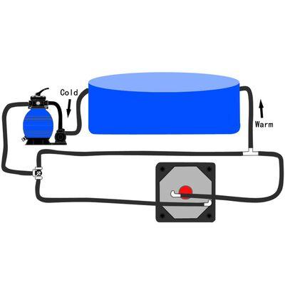 vidaXL Bypass kit för pool med solfångare