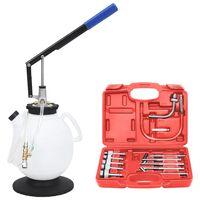 vidaXL Växellådspåfyllare för automatlåda med verktygssats  7,5 L