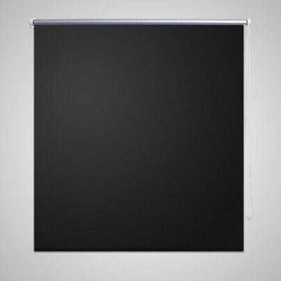 Rullgardin svart 80 x 230 cm mörkläggande