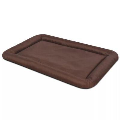 vidaXL Hundmadrass storlek XL brun
