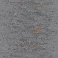 Topchic Tapet betongdesign grå och koppar
