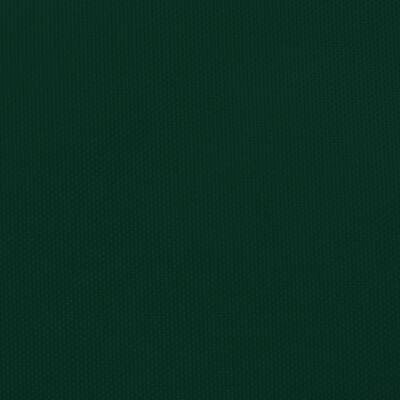 vidaXL Solsegel oxfordtyg rektangulärt 3x4,5 m mörkgrön