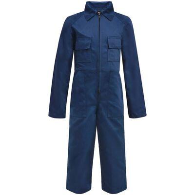 vidaXL Overall barn storlek 122/128 blå