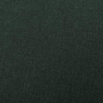 vidaXL Reclinerfåtölj mörkgrön tyg
