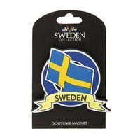 Magnet Souvenir Flagga Sverige