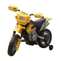 Elmotorcykel för barn Powersports gulsvart