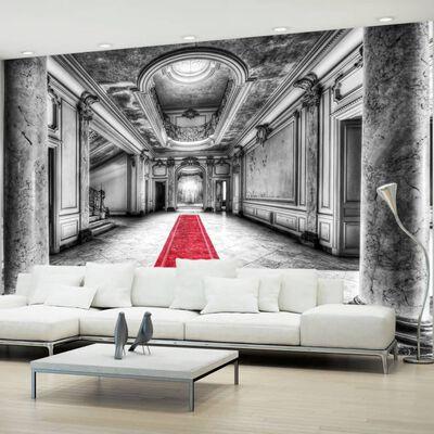 Fototapet - Mystery Marble - Black And White - 100x70 Cm