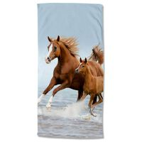 Good Morning Badlakan FREE 75x150 cm brun och blå
