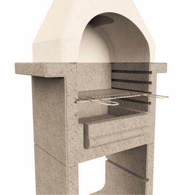 vidaXL Kolgill i betong med skorsten