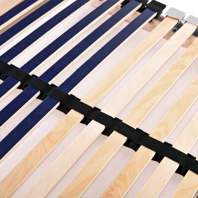 vidaXL Ribbotten med 42 ribbor 7 zoner 80x200 cm,