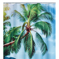 RIDDER Duschdraperi Palm Beach 180x200 cm
