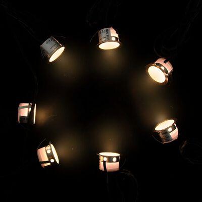 vidaXL Marklampor 20 st LED varmvit