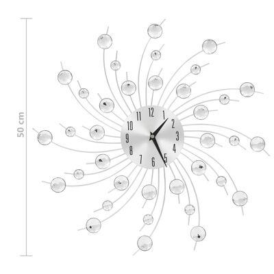 vidaXL Väggklocka med Quartz-urverk 50 cm modern design