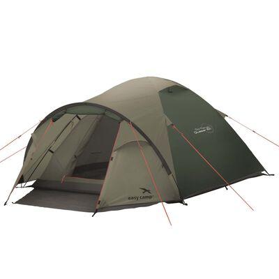 Easy Camp Tält Quasar 300 3 personer rustik grön