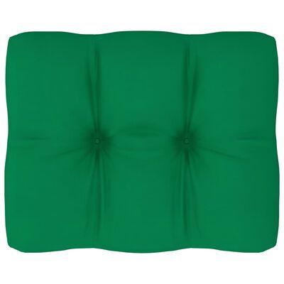 vidaXL Dyna till pallsoffa grön 50x40x12 cm