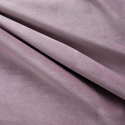 vidaXL Mörkläggningsgardiner med ringar 2 st rosa sammet 140x225 cm