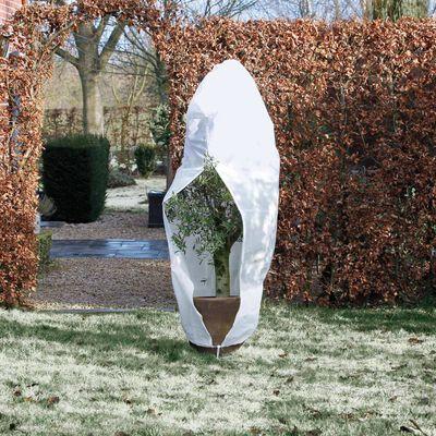 Nature Täckduk fleece med blixtlås 70 g/m² 2,5x2x2 m