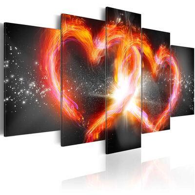 Tavla - Flame Of Love - 200x100 Cm