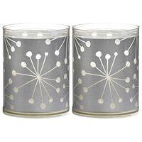 Bolsius Sparkle Lights 6 st Crystal Silver 103622390581