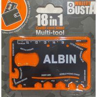 Joker Multitool Multiverktyg ALBIN kreditkort betalkort