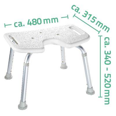 RIDDER Badrumspall 110  kg vit A0050501