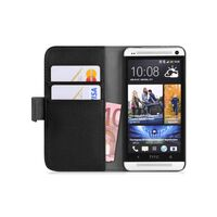 Mobilplånbok 2-kort HTC ONE MAX (T6) Svart