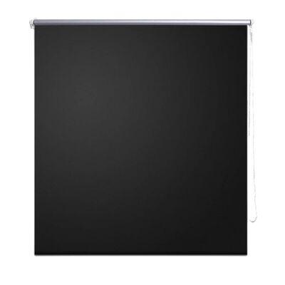 vidaXL Rullgardin för mörkläggning 140 x 230 cm svart