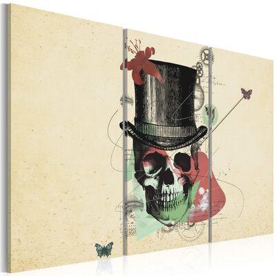 Tavla - Gentleman's Skeleton - 60x40 Cm
