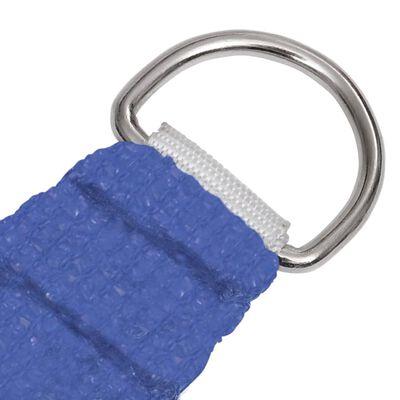 vidaXL Solsegel 160 g/m² blå 2x3 m HDPE