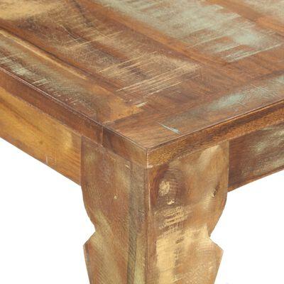 vidaXL Matbord 180x90x76 cm massivt återvunnet trä